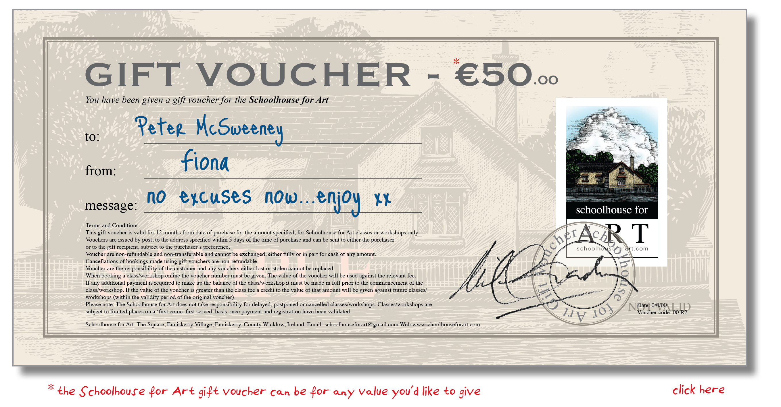 examples of vouchers – Example of a Voucher